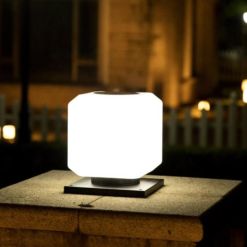 Square sphere solar stigma lamp