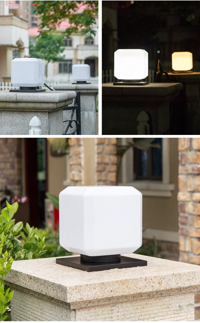 Pat Hei Gate Hardware hot selling garden pillar lights bulk purchase for sale-5