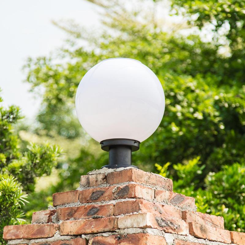 Stainless Steel IP55 Waterproof Solar Led Bulb Lamp