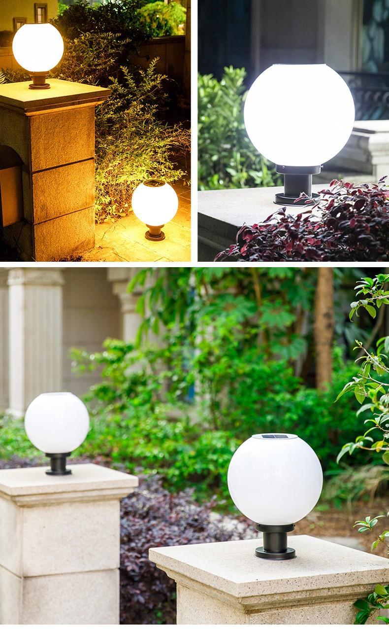 new design Solar Pillar Light dustproof awarded supplier for sale