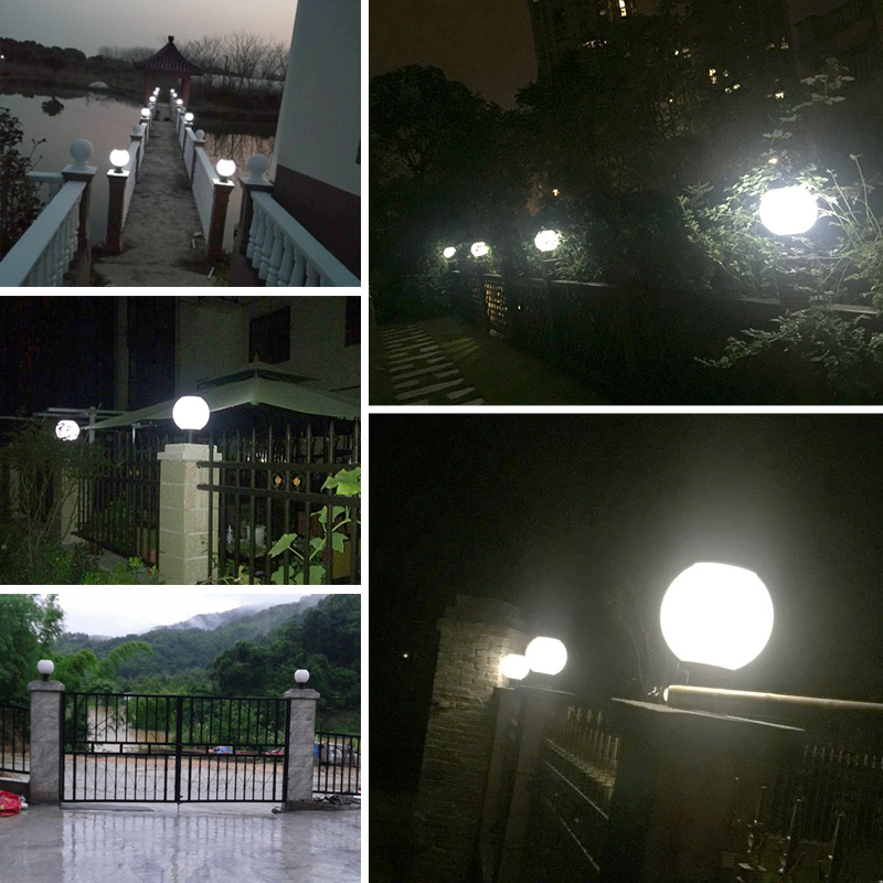 Pat Hei Gate Hardware-Stainless Steel Ip55 Waterproof Solar Led Bulb Lamp-pat Hei Gate Hardware-6
