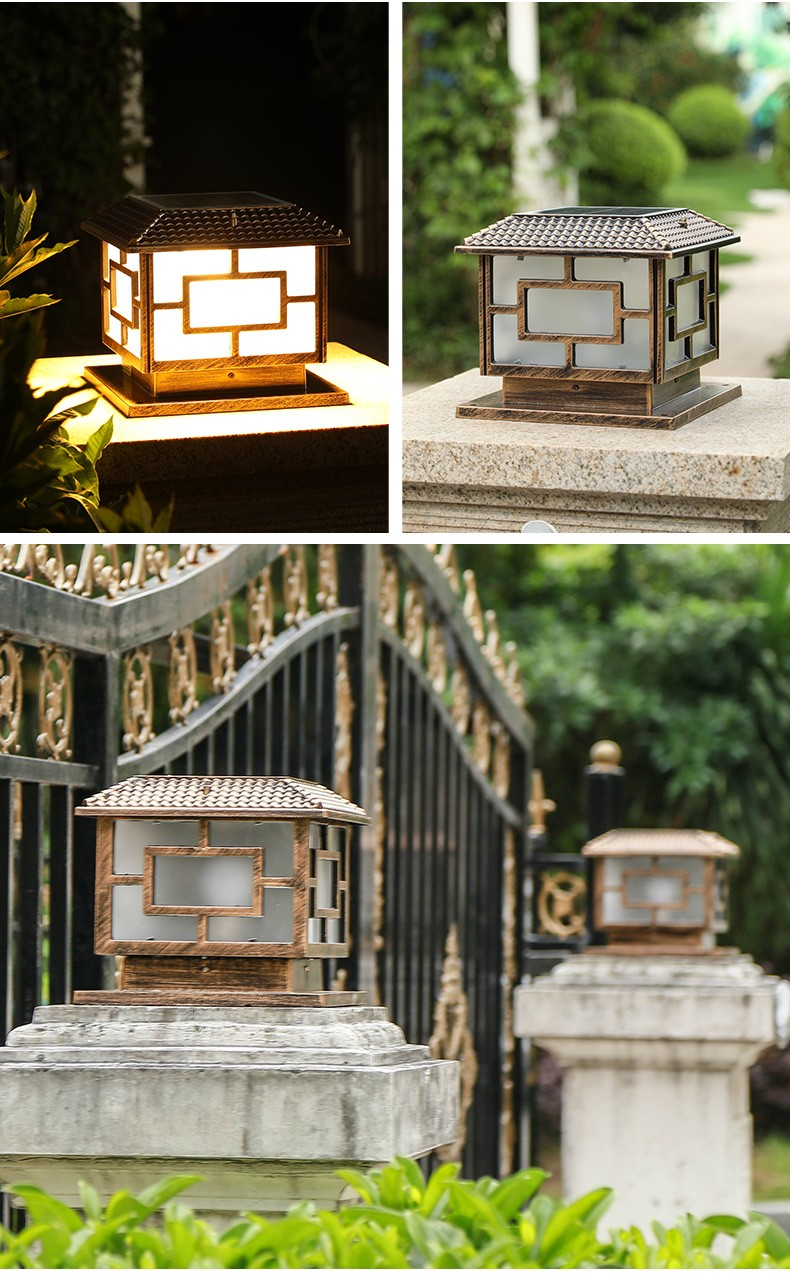 most popular solar rock lights small factory for door-5