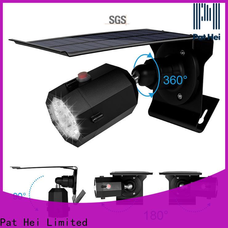 low MOQ Solar Sensor Light IP65 supplier for sale
