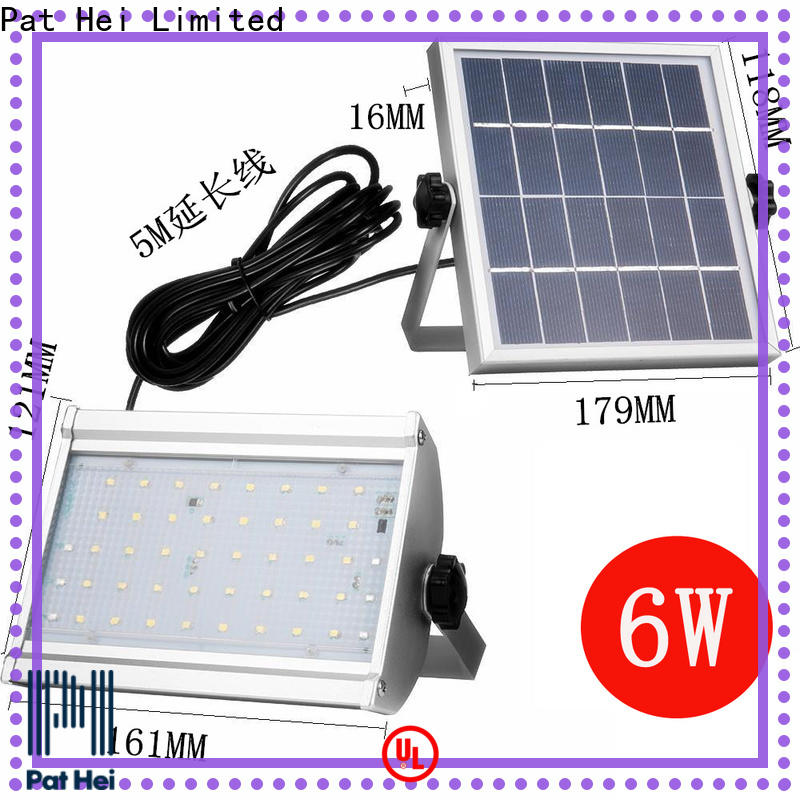 Pat Hei Gate Hardware cost-effective Solar Flood Light get latest price for trader