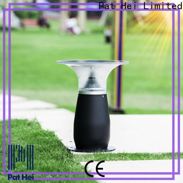 Pat Hei Gate Hardware hot selling solar pillar lights outdoor bulk purchase for sale