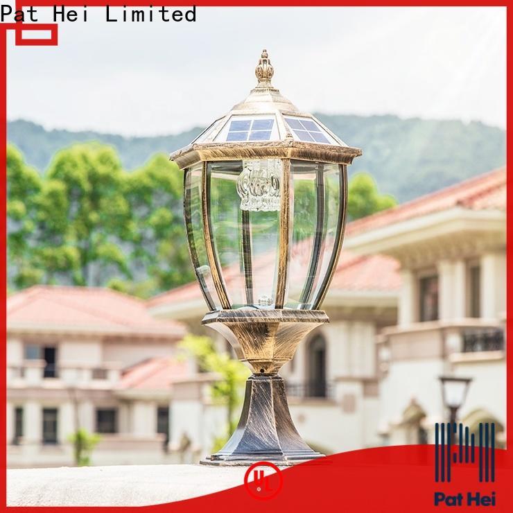 hot selling solar pillar lights outdoor led lights trade partner for sale