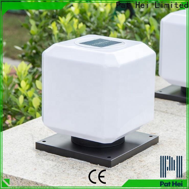 Pat Hei Gate Hardware new design solar pillar lights outdoor trade partner for yard