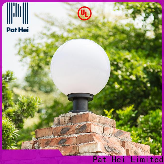 Pat Hei Gate Hardware led lights Solar Pillar Light exporter for yard