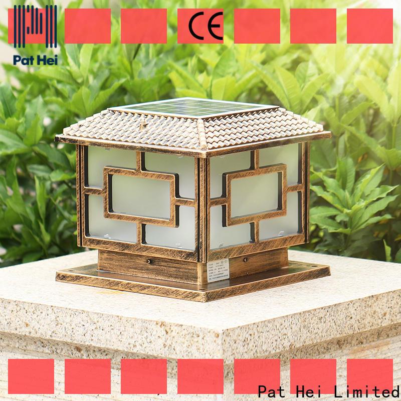 new design Solar Pillar Light led lights exporter for sale