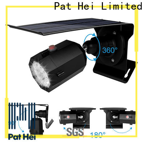 Pat Hei Gate Hardware new solar powered sensor light supplier for outdoor