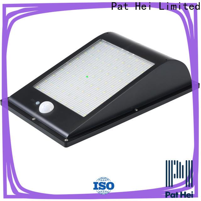 Pat Hei Gate Hardware low MOQ solar powered sensor light supplier for outdoor