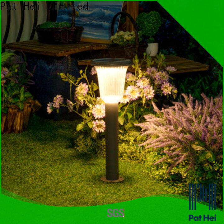 Pat Hei Gate Hardware easy to install solar powered lawn lights manufacturer