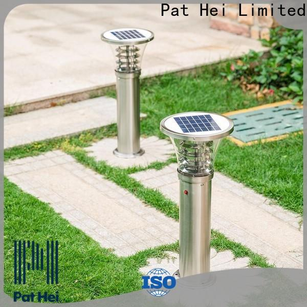 Pat Hei Gate Hardware easy to install Solar Lawn Light factory for trader