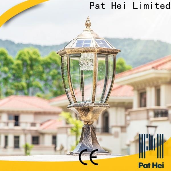 Pat Hei Gate Hardware China solar bulb supplier for door