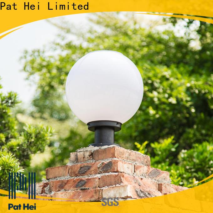 Pat Hei Gate Hardware dustproof solar gate pillar lights bulk purchase for sale