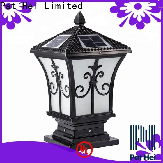 classic solar gate pillar lights dustproof exporter for yard