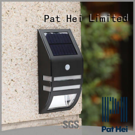 Pat Hei Gate Hardware adjustable solar powered wall light factory for merchant
