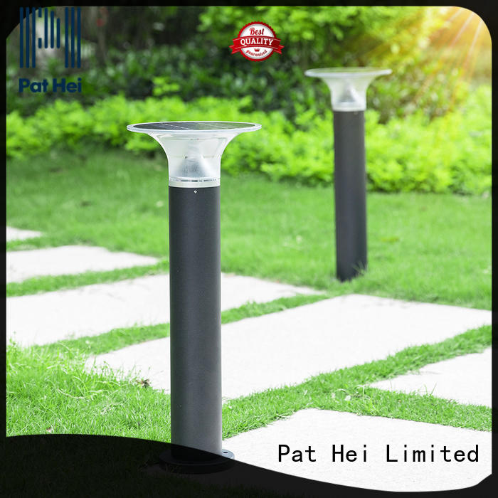 Pat Hei Gate Hardware best Solar Lawn Light with silicone cover