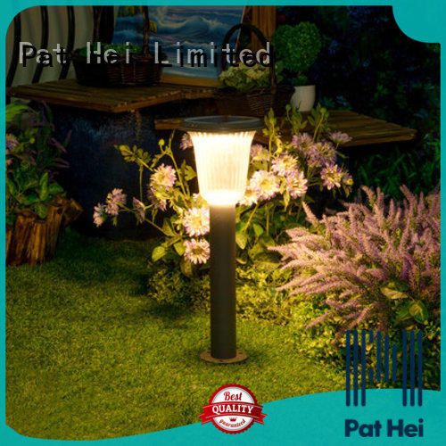 Pat Hei Gate Hardware easy to install solar powered lawn lights factory
