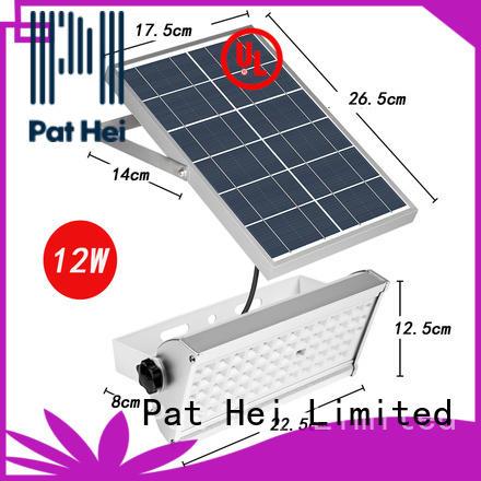 Pat Hei Gate Hardware long working life best solar flood lights wholesaler for sale