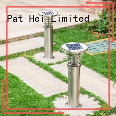 small outdoor solar lamp looking for buyer for trader Pat Hei Gate Hardware