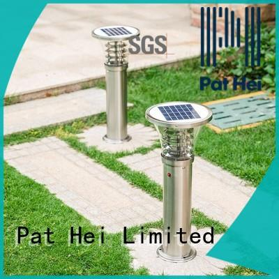 Pat Hei Gate Hardware easy to install solar powered lawn lights with silicone cover