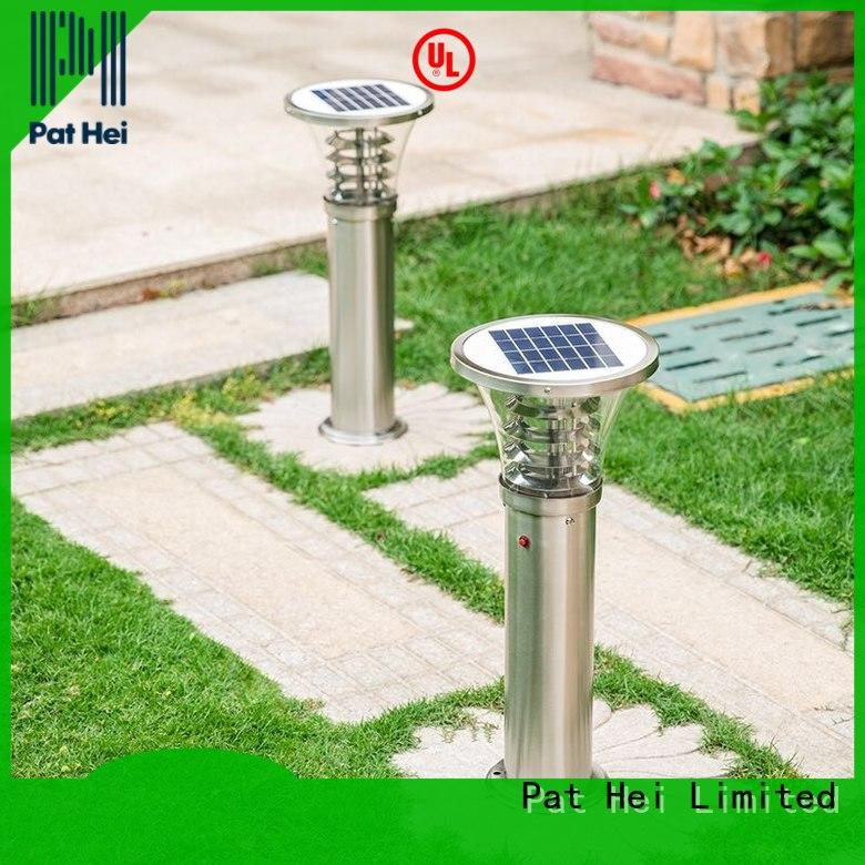 Pat Hei Gate Hardware solar lawn lights factory for trader