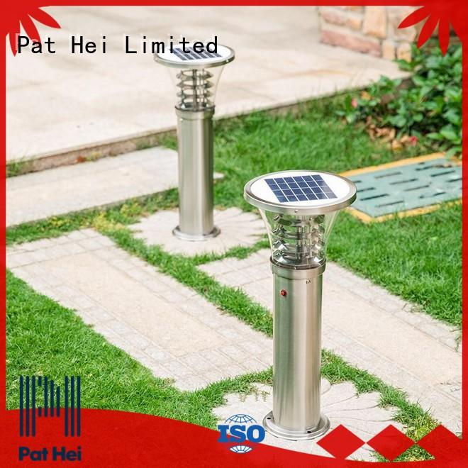 Pat Hei Gate Hardware easy to install Solar Lawn Light factory for dealer