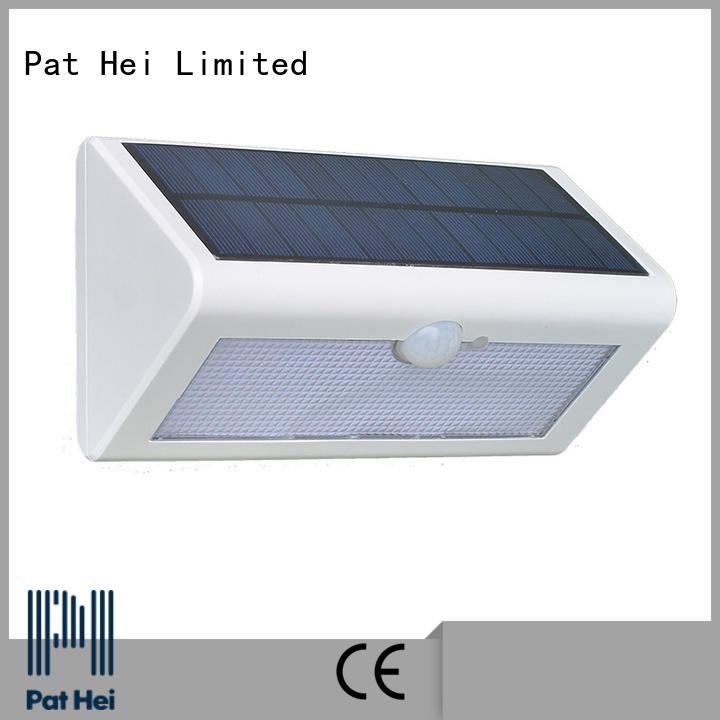 Pat Hei Gate Hardware wall mounted solar lights manufacturer for merchant