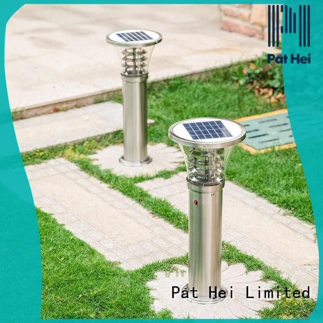 Pat Hei Gate Hardware fast shipping Solar Lawn Light with silicone cover