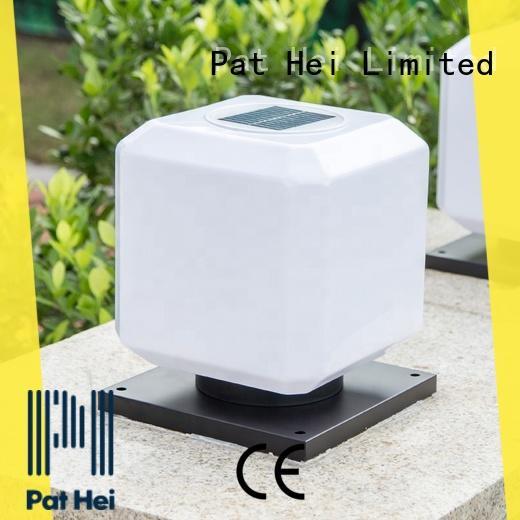 hot selling solar pillar lights outdoor aluminum trade partner for garden