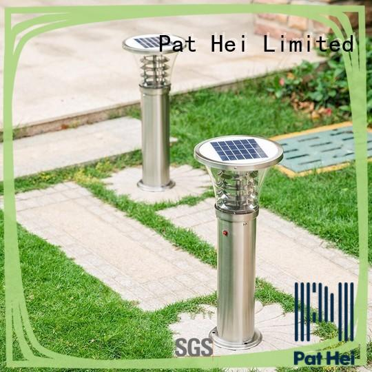 Stainless Steel IP55 Waterproof Outdoor Solar LED Lawn Light