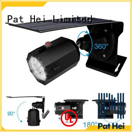 Pat Hei Gate Hardware solar powered sensor light supplier for courtyard