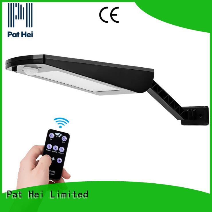 Pat Hei Gate Hardware wall mounted solar lights manufacturer for merchant