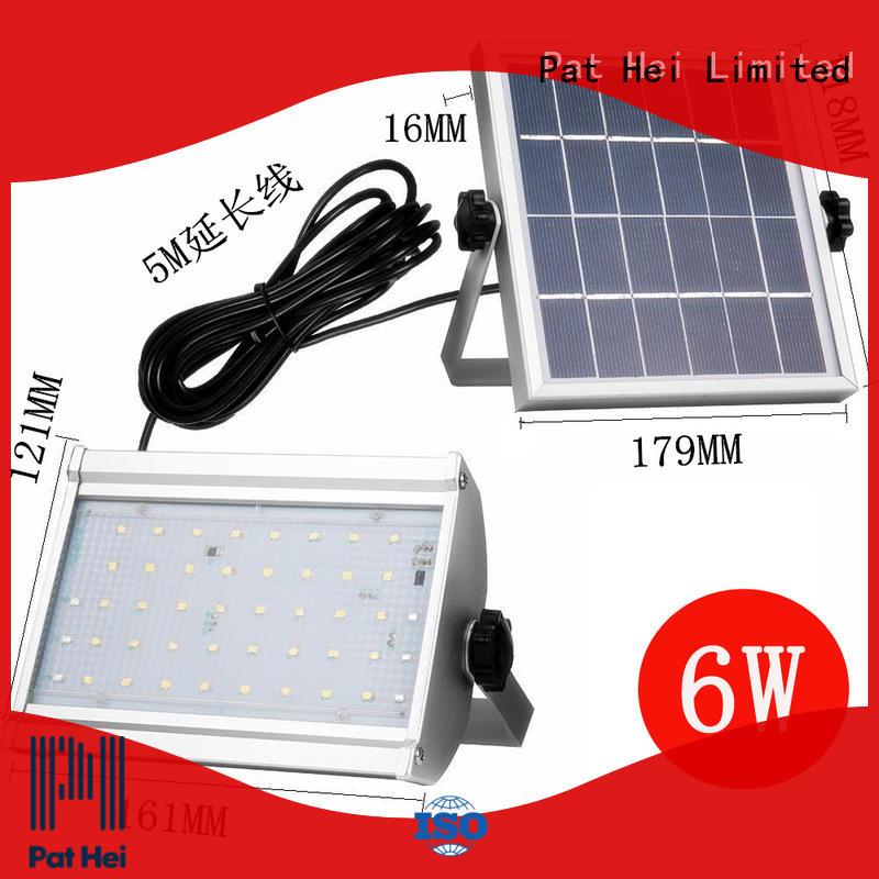 Pat Hei Gate Hardware commercial best solar flood lights wholesaler for sale