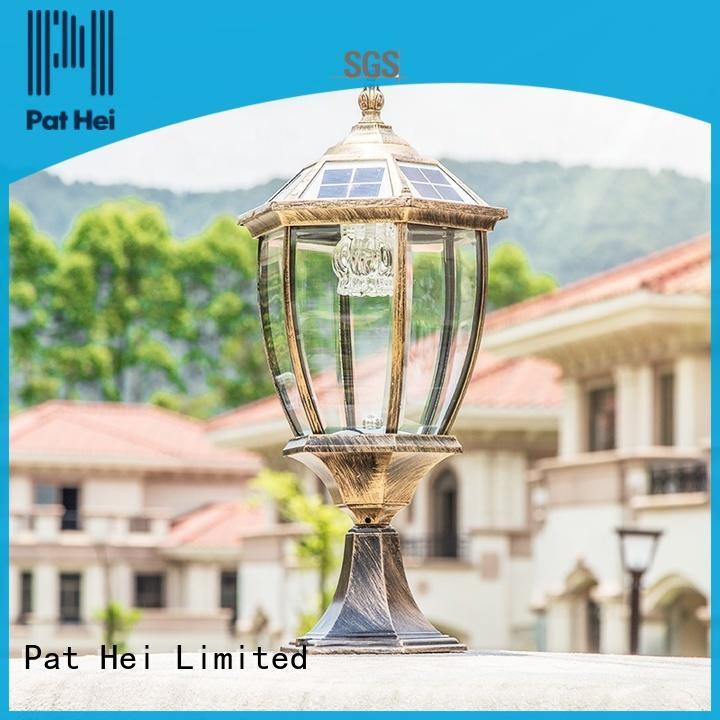 Pat Hei Gate Hardware China solar rock lights factory for door