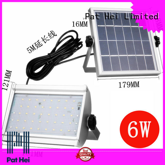 Pat Hei Gate Hardware waterproof best solar flood lights wholesaler for sale