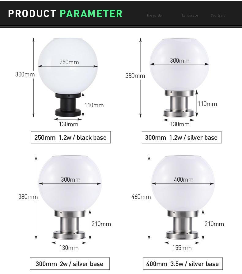 new design Solar Pillar Light dustproof awarded supplier for sale-2