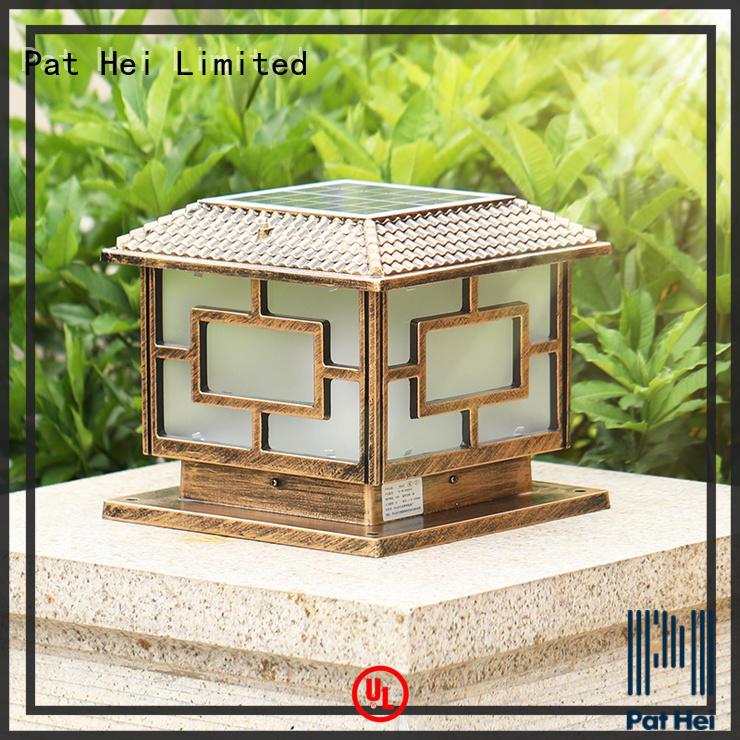 Aluminum IP55 Waterproof Solar Led Pillar Light