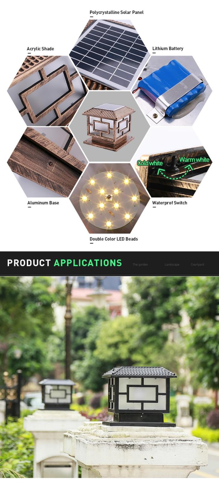 most popular solar rock lights small factory for door-3