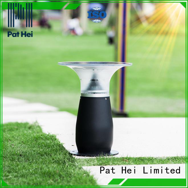 Pat Hei Gate Hardware hot selling solar gate pillar lights awarded supplier for yard