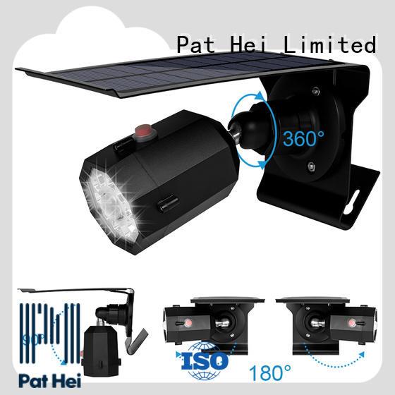 Pat Hei Gate Hardware IP65 Solar Sensor Light trader for courtyard